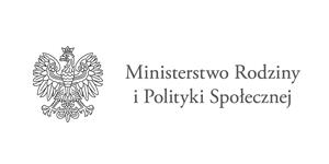 logo Ministerstwa Rodziny i Polityki Społecznej