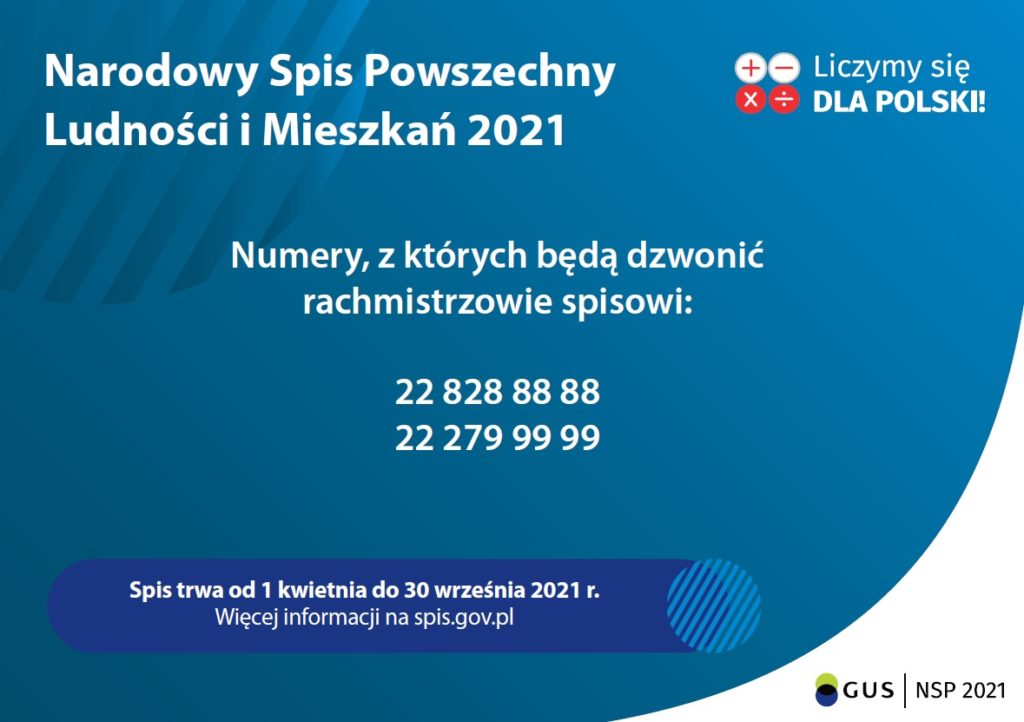 Spis 2021 - numery telefonu
